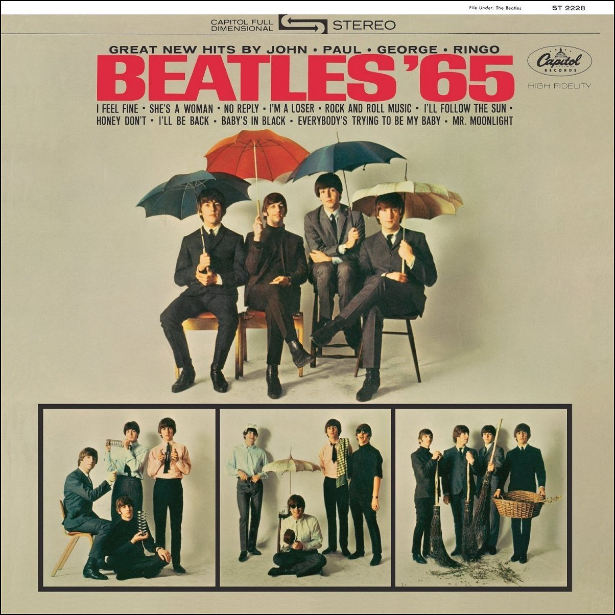 Beatles MIDI/MP3 Music Homepage - Beatles '65